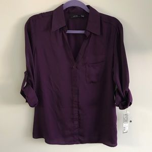 NWT Button Up Blouse